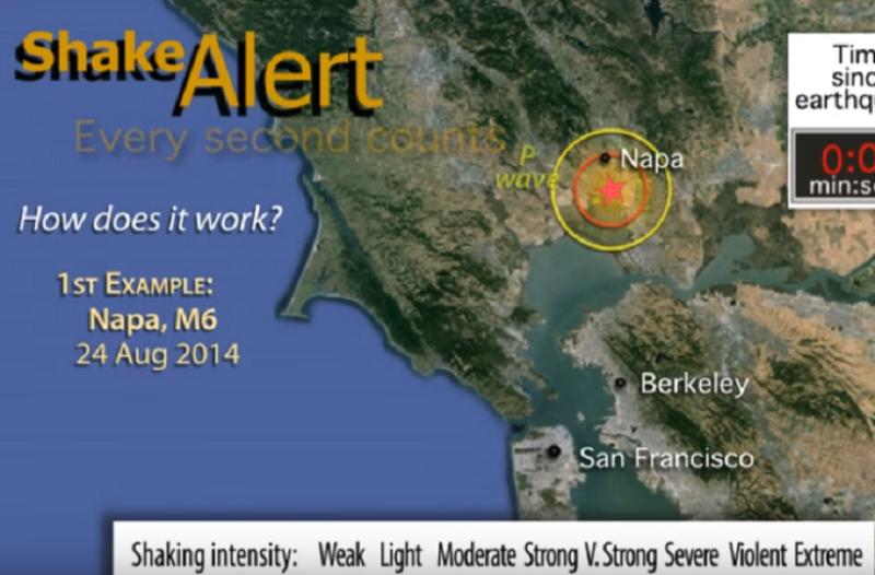 Το ShakeAlert είναι γεγονός! - Το πρώτο σύστημα έγκαιρης προειδοποίησης για σεισμό στην Καλιφόρνια!