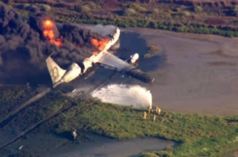 Σοκ: Κατέπεσε αεροπλάνο αμέσως μετά την απογείωση!