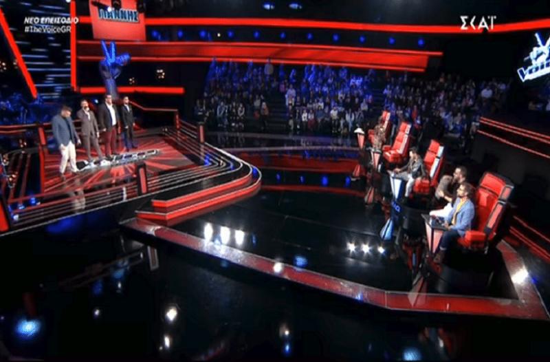 The Voice: Η έκπληξη του Γιώργου Καπουτζίδη που ενθουσίασε την κριτική επιτροπή! (Βίντεο)