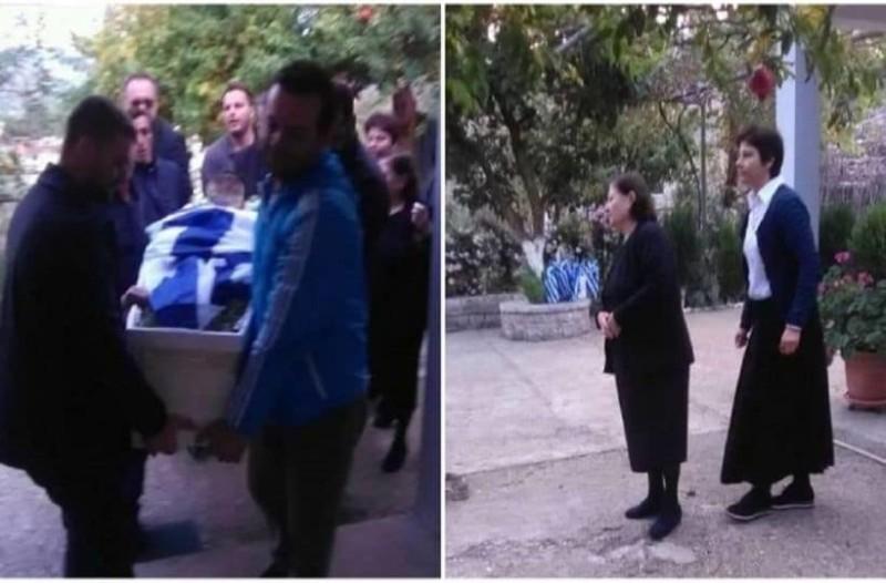 Θα ανατριχιάσετε: Τι έβαλαν μέσα στον τάφο του Κωνσταντίνου Κατσίφα! (photos)