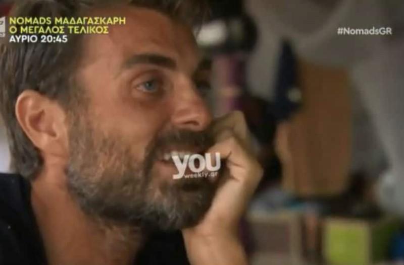 Nomads 2: Ξέσπασε σε κλάματα ο Στέλιος Χανταμπάκης - «Με γκρέμισες...»! (Βίντεο)