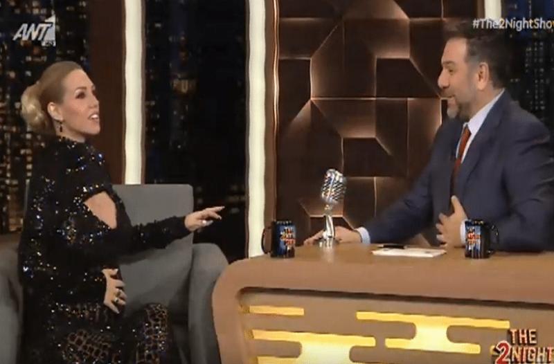 The 2Night Show: Λαχτάρα για την Σάσα Μπάστα on air! -  Τι συνέβη; (Video)