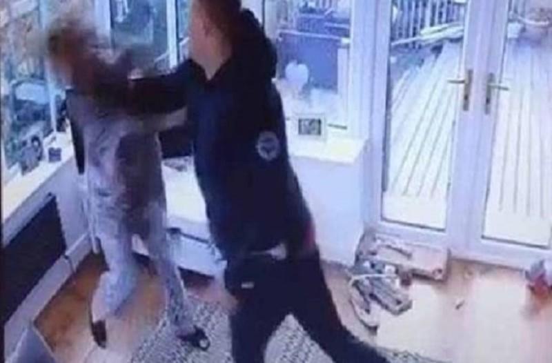 Βίντεο που σοκάρει: Γρονθοκόπησε την έγκυο σύντροφό του!