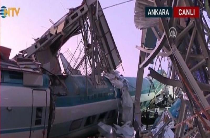 Απίστευτη τραγωδία στην Άγκυρα: Εκτροχιασμός τρένου με 4 νεκρούς και 43 τραυματίες!