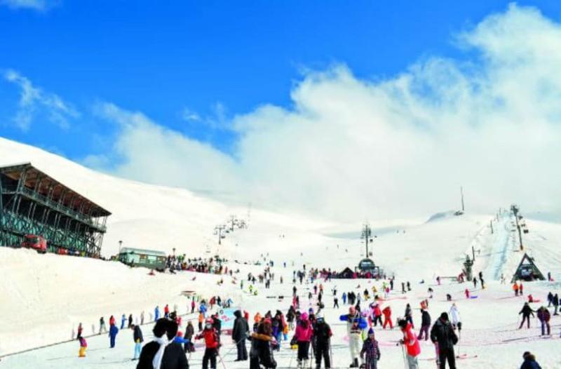 Κάνουμε check in στο Χιονοδρομικό Κέντρο Παρνασσού!