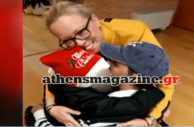 Κωνσταντίνος Αγγελίδης: Η πρώτη συνάντηση με τον γιο του μετά από έναν χρόνο! (video)