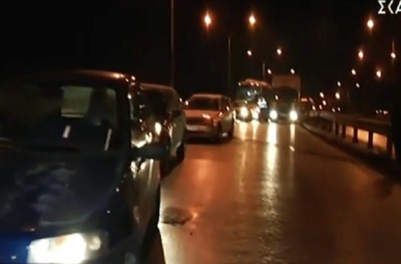 Καραμπόλα δέκα αυτοκινήτων στη Θεσσαλονίκη!