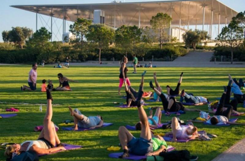 Yoga στο Πάρκο στο Κέντρο Πολιτισμού Ίδρυμα Σταύρος Νιάρχος - Πρόγραμμα Ιανουαρίου 2019