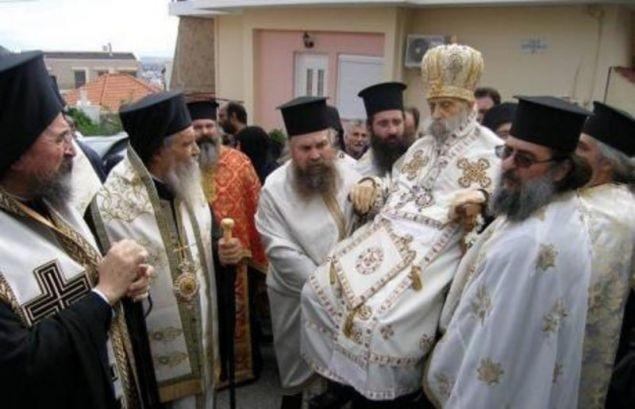 Ο Αμβρόσιος πέθανε τον Τσίπρα![photo]