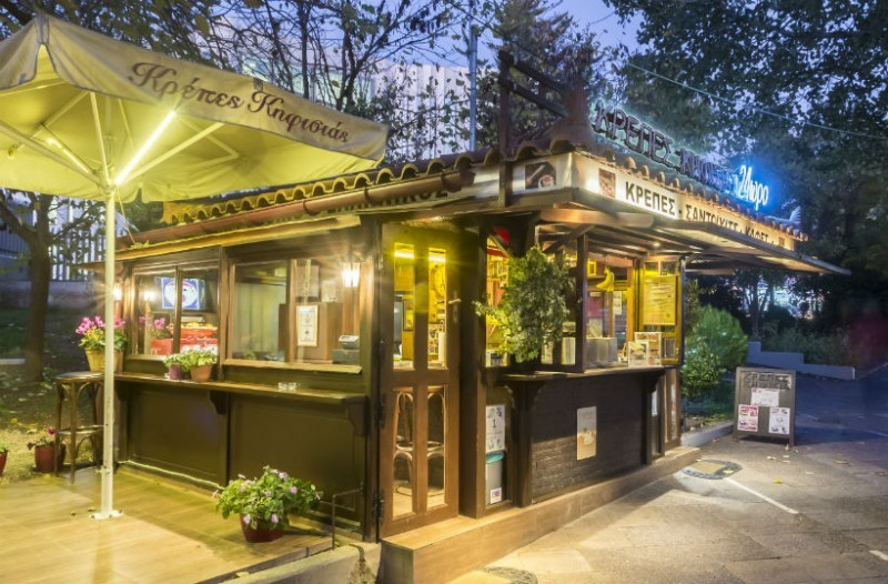 Κρέπες Κηφισιάς: Εδώ και 25 χρόνια στην πιάτσα της Κηφισιάς, αποτελεί διαχρονικό στέκι στον street food χάρτη των βορείων προαστίων!