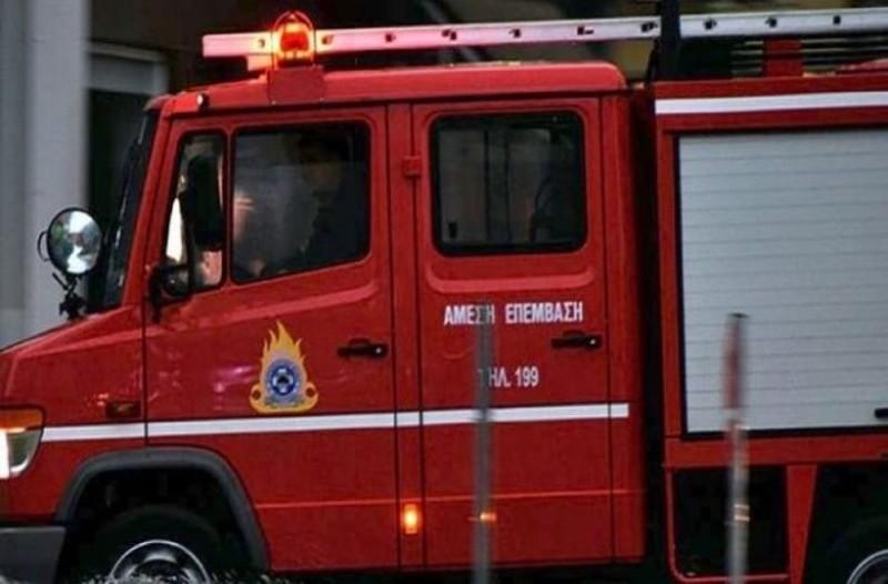 Φωτιά σε μονοκατοικία στη Θεσσαλονίκη!