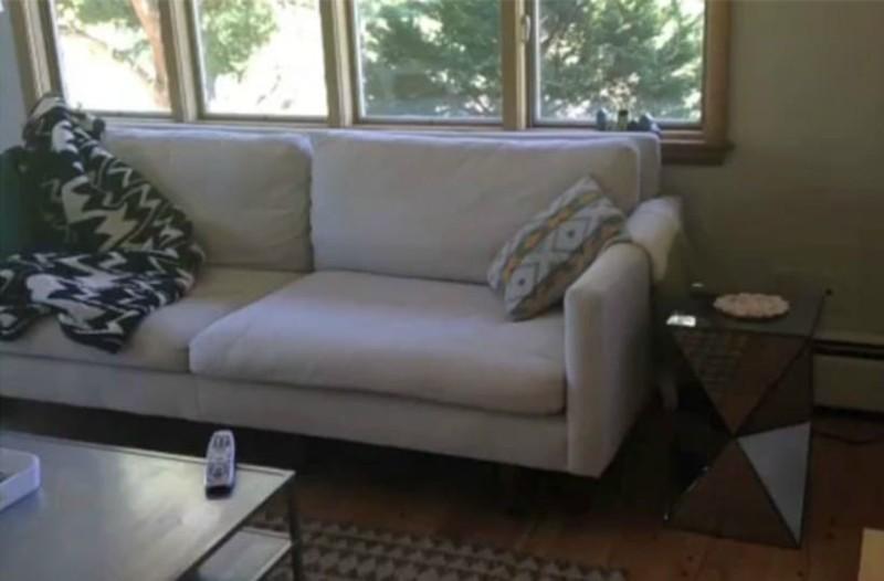 Καθαριότητα στο σπίτι: Έτσι θα καθαρίσετε τον υφασμάτινο καναπέ!
