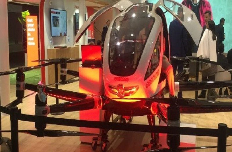 Ερχονται τα αεροταξί -Αυτόματα σαν drones χωρίς πιλότο!
