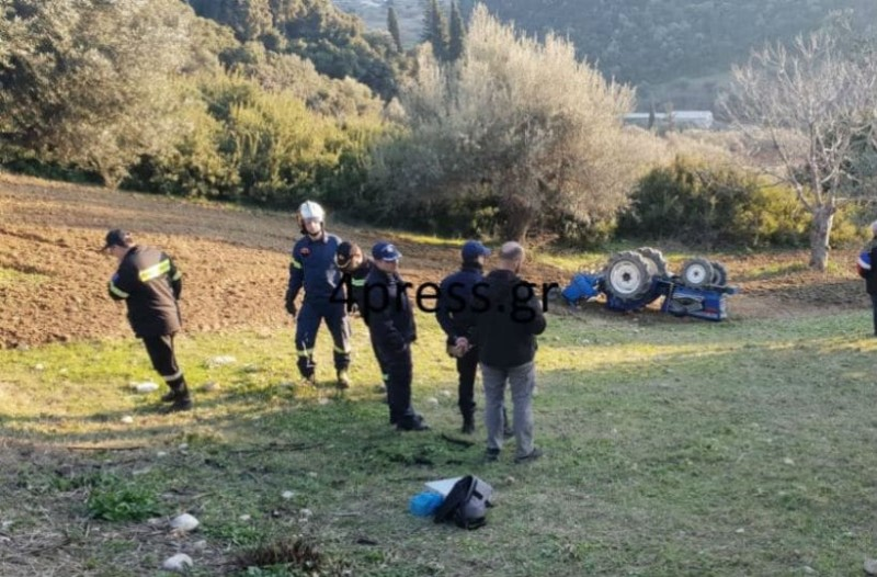 Σοκ στην Πάτρα: Νεκρός 58χρονος που καταπλακώθηκε από τρακτέρ!