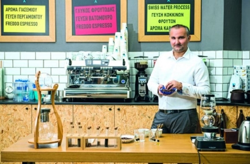 Coffee Lab: Interview with Stelios Roumeliotis!