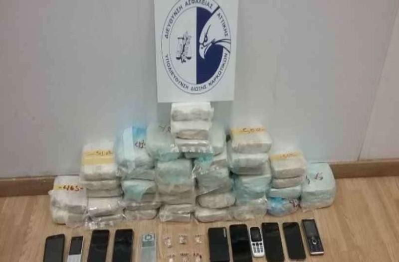 ΓΑΔΑ: Εντοπισμός μισού τόνου ναρκωτικών τον Φεβρουάριο!
