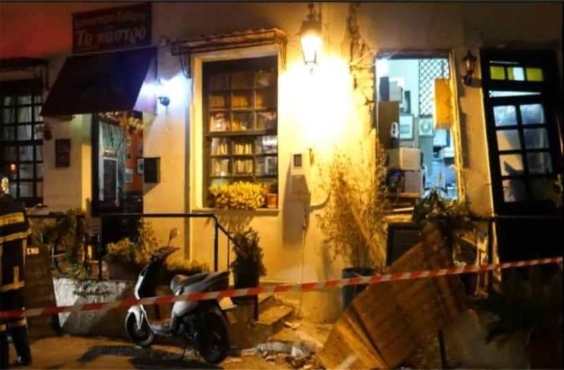 Λέσβος: Έκρηξη σε εστιατόριο με έναν τραυματία!