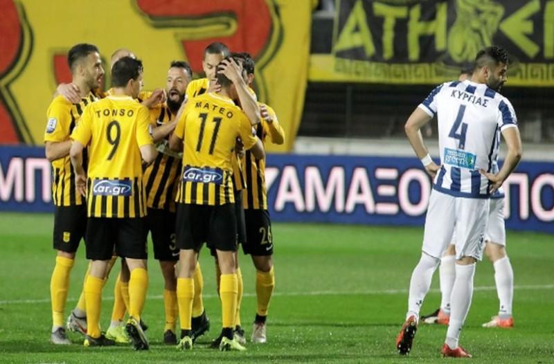 Super League: Άρης - Απόλλων Σμύρνης 5-0!