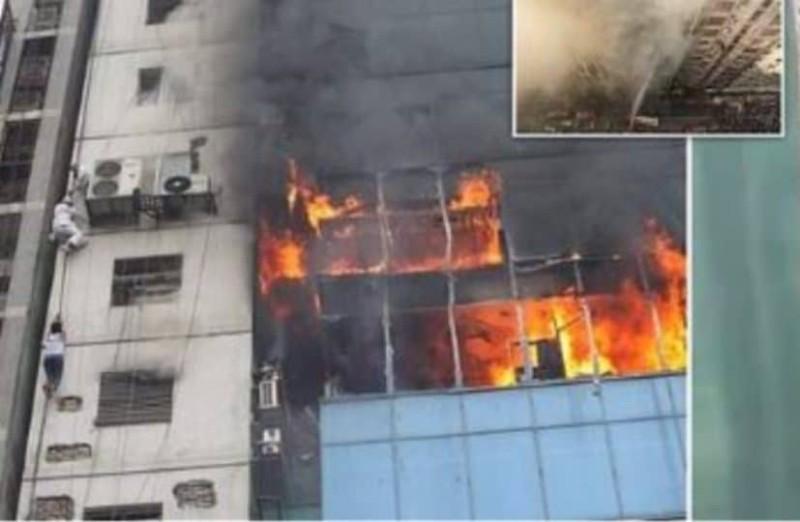 Συγκλονιστικό βίντεο από τη φωτιά στο Μπαγκλαντές!
