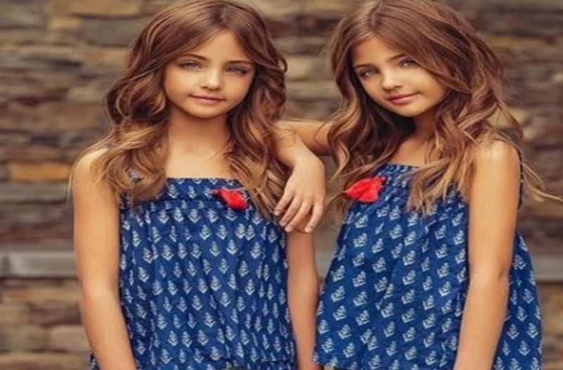 a349a180b0c Οι 7χρονες δίδυμες που είναι τα ομορφότερα κορίτσια στον κόσμο ...