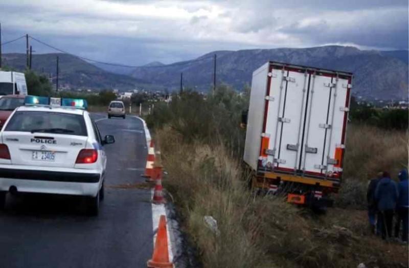 Μεσολόγγι: Oδηγούσε φορτηγό με ξένες πινακίδες και χωρίς στοιχεία!