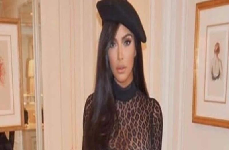 Η Kim Kardashian εμφανίστηκε με ολόσωμο λεοπάρ που κρύβει μόνο τα απαραίτητα