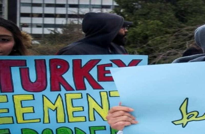 Σύνταγμα: Πορεία διαμαρτυρίας προσφύγων!