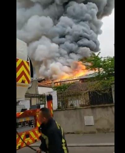 Γαλλία πυρκαγιά