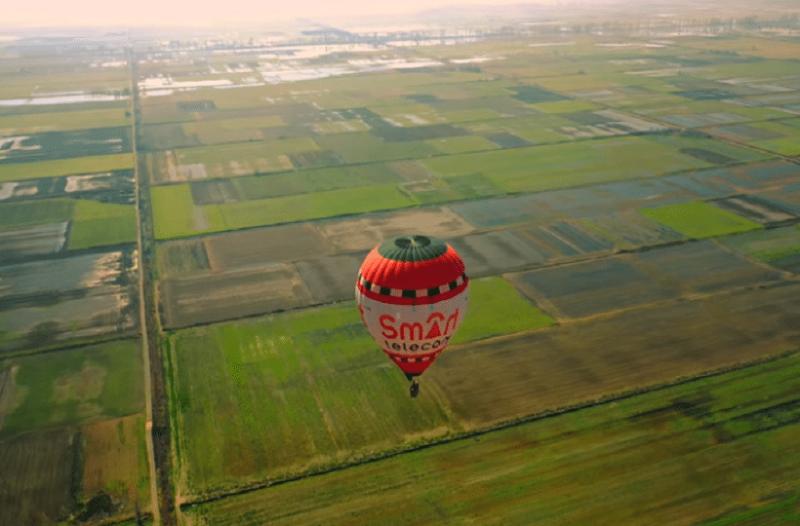 6d780a2750fa Οι εντυπωσιακές εικόνες που κατέγραψε ένα drone από αερόστατο ...