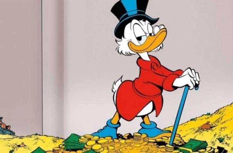 Τελικά είναι πλούσιος ο Σκρούτζ Μακ Ντακ;