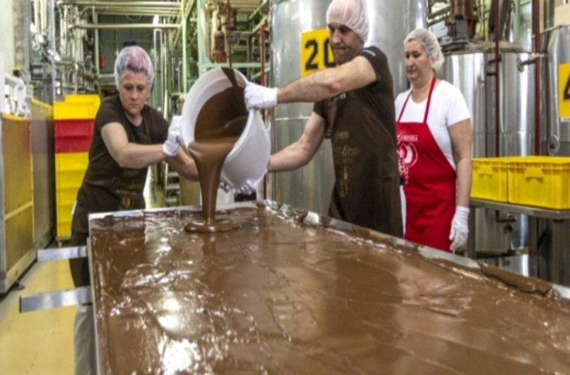 Σλοβακία: Σοκολάτα, βάρους 97 κιλών, σπάει όλα τα ρεκόρ!