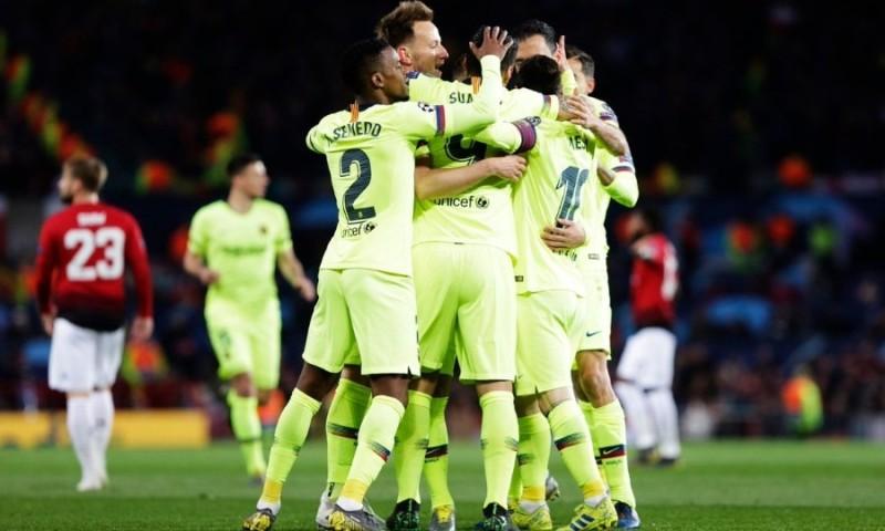 Champions League: Απόδραση από το Μάντσεστερ για την Μπαρτσελόνα!