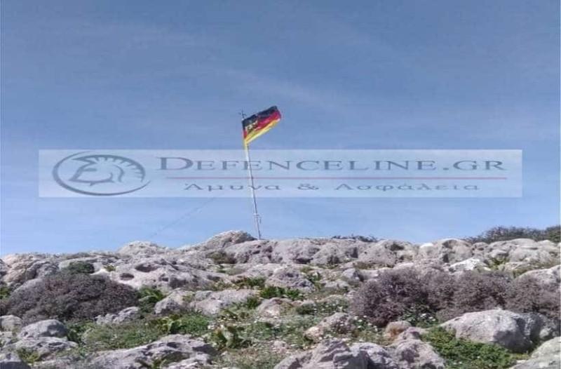 Κρήτη: Γερμανοί αξιωματικοί κατέβασαν  την ελληνική σημαία και υπάρχουν ποινές!