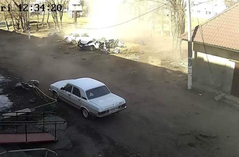 Τραγικό: Ισχυρή έκρηξη σε αυτοκίνητο από διαρροή υγραερίου!