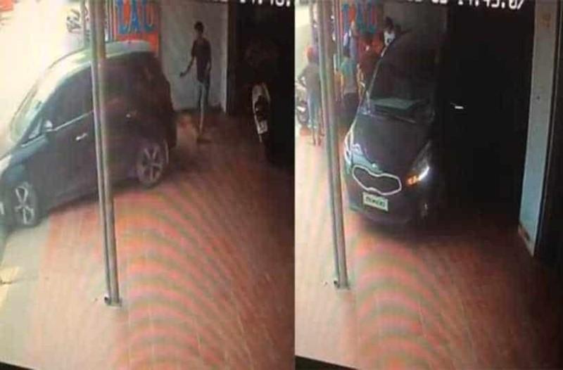 Απίστευτο: Άντρας προσφέρθηκε να βοηθήσει γυναίκα να παρκάρει κι αυτή τον πάτησε!