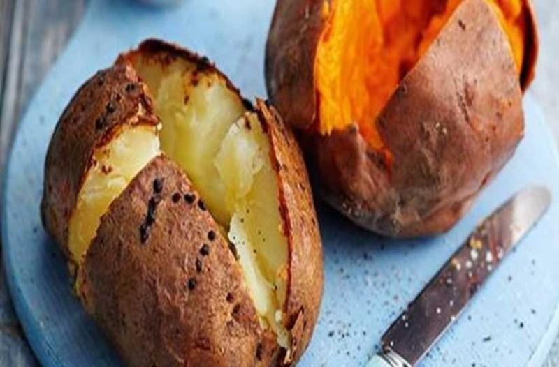 πατάτες με φλούδα