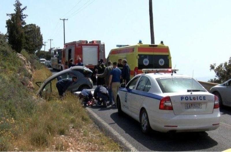 Χανιά: Εγκλωβίστηκαν τραυματίες σε τροχαίο!