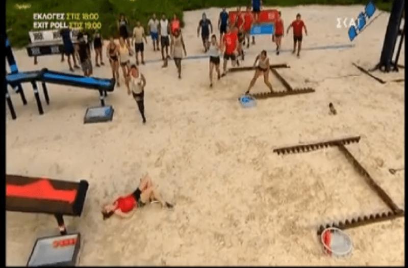 Survivor: Κι άλλος τραυματισμός! Παίκτρια χτύπησε τη μέση της!