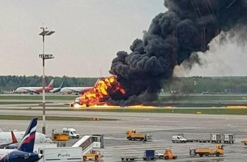 Αεροπορική τραγωδία Μόσχα