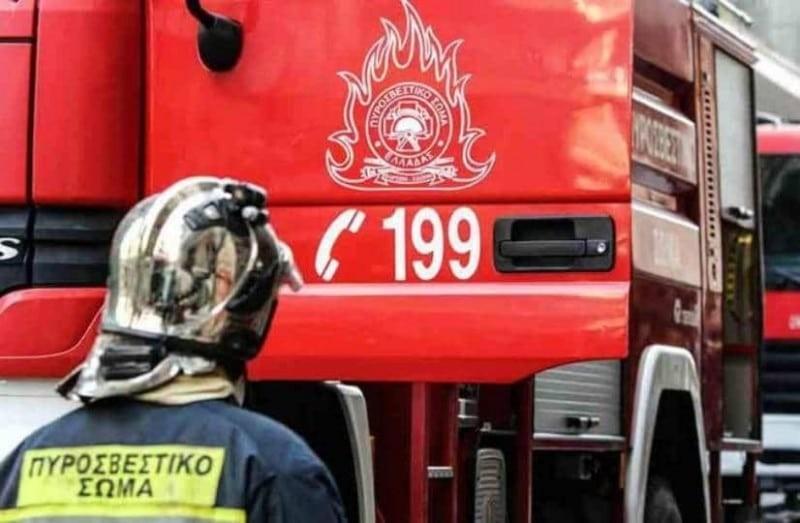 Πυρκαγιά που εκδηλώθηκε σε αυτοκίνητο στον δήμο Φυλής!