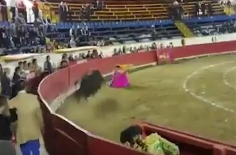 Μεξικό: Ταύρος έσπασε το σαγόνι γυναίκας ταυρομάχου! (Video)