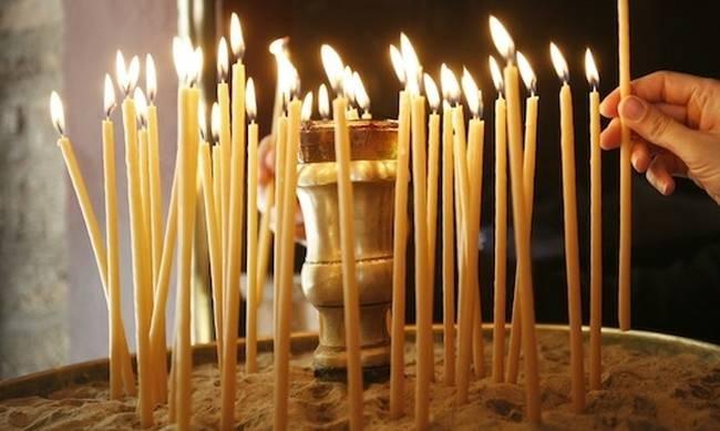 Κεριά εκκλησία