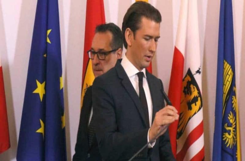 Αυστρία: Κυβερνητικό σκάνδαλο! Έκτακτα διαγγέλματα Κουρτς και Βαν ντερ Μπέλεν!