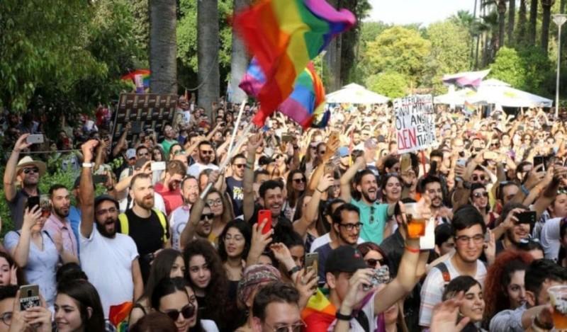 Η Λευκωσία φωτίζεται για το Pride!