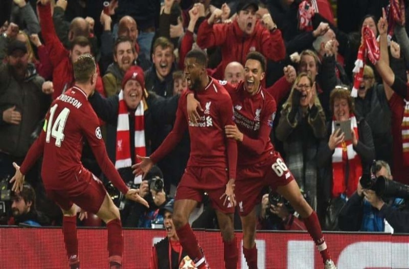 Champions League: Ανατριχίλα από το 4-0 της Λίβερπουλ επί της Μπαρτσελόνα! Πανηγυρισμοί στο  Άνφιλντ! (Video)