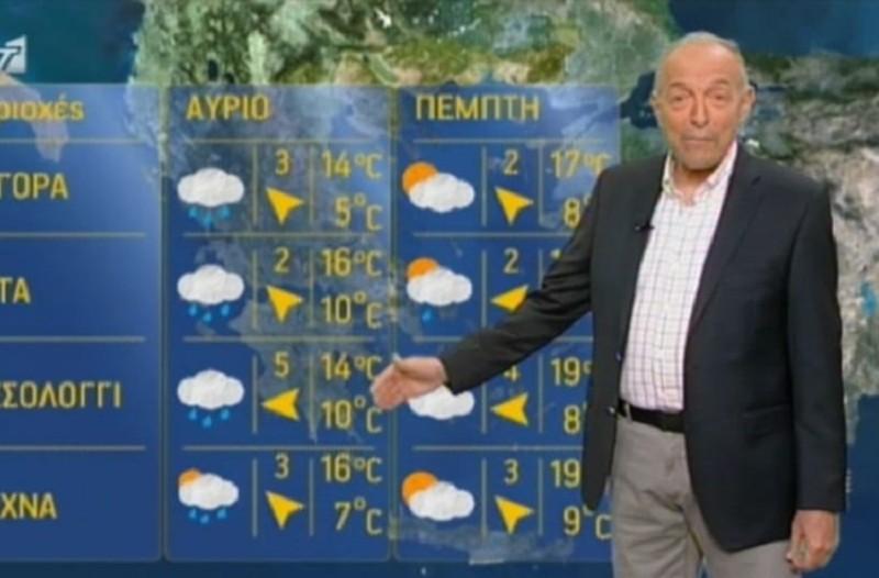 Κατακόρυφη πτώση της θερμοκρασίας και... χιονόνερο! - Έκτακτη προειδοποίηση για τον καιρό από τον Τάσο Αρνιακό!