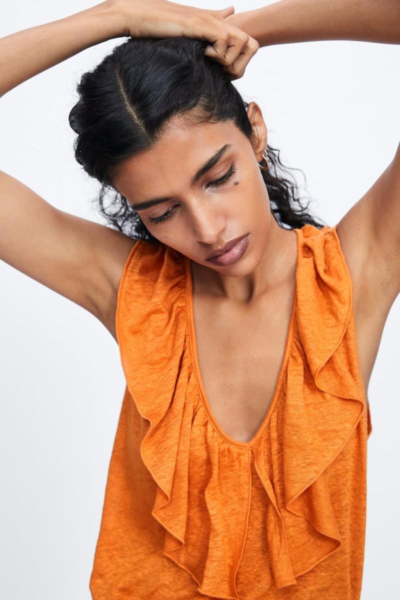 Zara μπλούζα