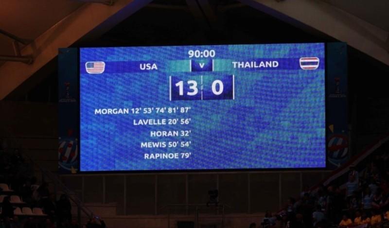 Απίστευτο σκορ! Με 13 - 0 σκόρπισε η Εθνική ΗΠΑ!