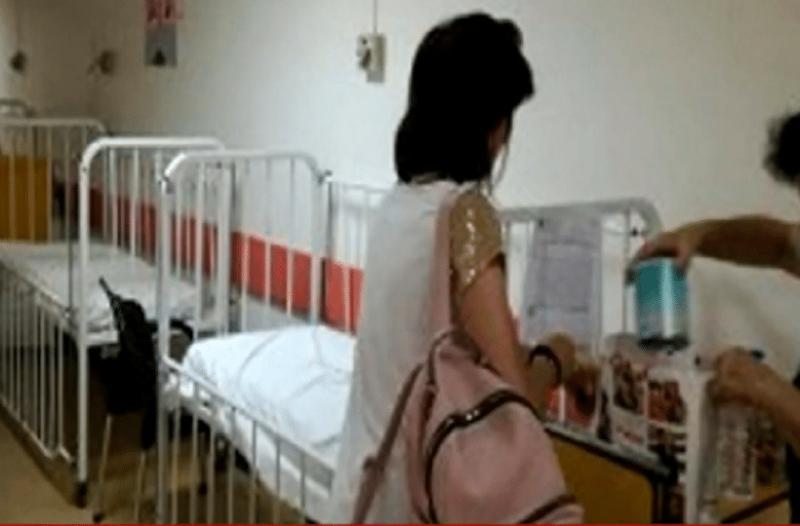 Τραγικό: Έβαλαν βρέφος σε ράντζο νοσοκομείου! (video)