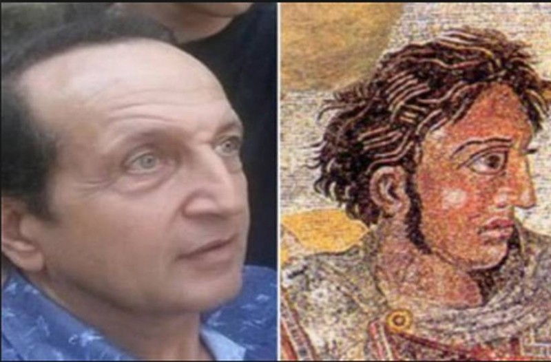Σταματήστε ότι κάνετε: Υποψήφιος βουλευτής ο σωσίας του Μέγα Αλέξανδρου, Σπύρος Μπιμπίλας!